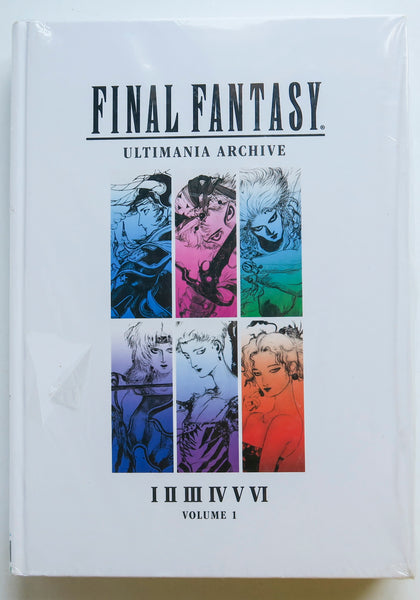 Final Fantasy Ultimania Archive Vol. 1 Dark Horse Art Book