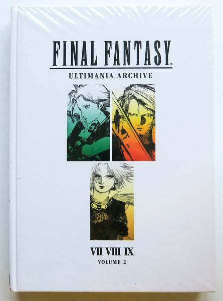 Final Fantasy Ultimania Archive Vol. 2 Dark Horse Art Book