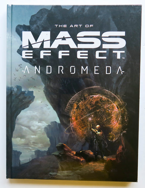 The Art of Mass Effect Andromeda Dark Horse Art Book