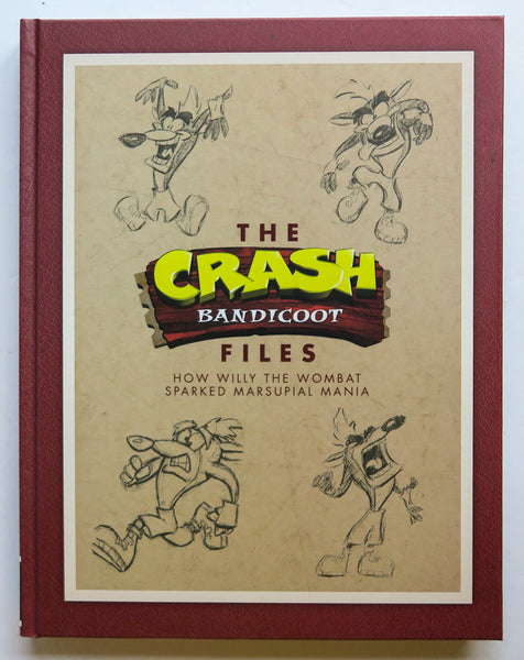 The Crash Bandicoot Files How Willy the Wombat Sparked Marsupial Mania Dark Horse Art Book
