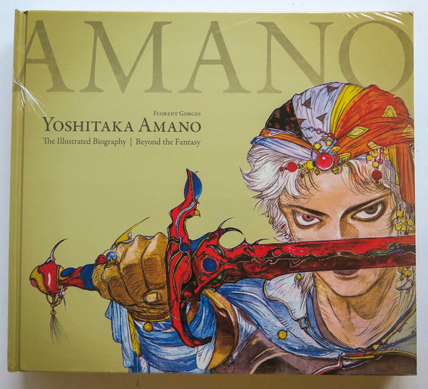 Yoshitaka Amano The Illustrated Biography Beyond the Fantasy Florent Gorges Dark Horse Art Book