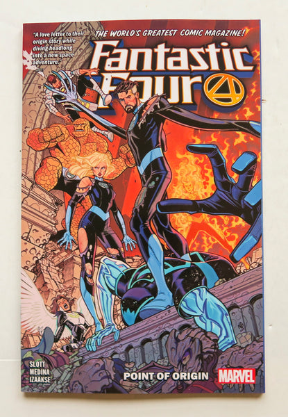 Fantastic Four Vol. 5 Point of Origin Marvel Graphic Novel Comic Book