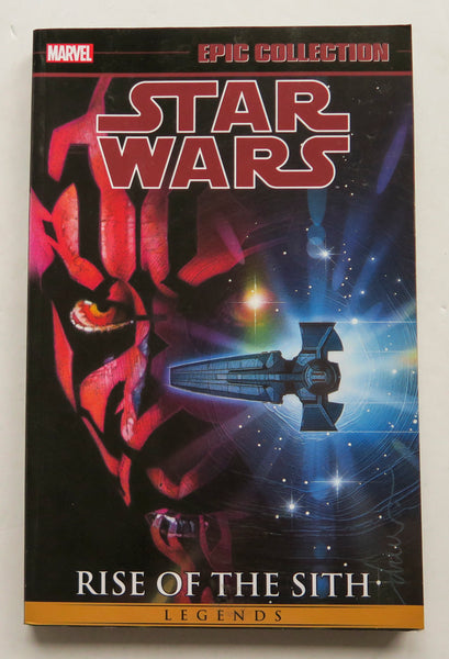 Star Wars Rise of the Sith Vol. 2 Marvel Epic Collection Graphic Novel Comic Book