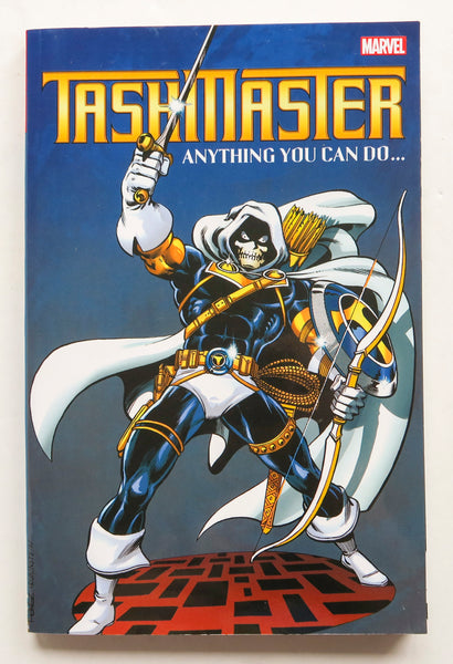 Taskmaster Anything You Can Do Marvel Graphic Novel Comic Book
