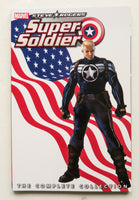 Steve Rogers Super-Soldier The Complete Collection Marvel Graphic Novel Comic Book
