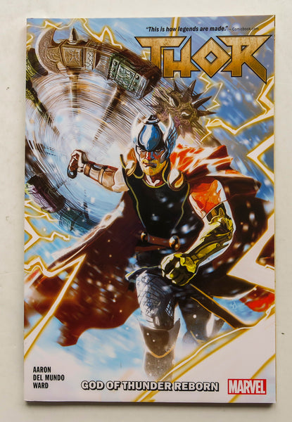 Thor God of Thunder Reborn Vol. 1 Marvel Graphic Novel Comic Book