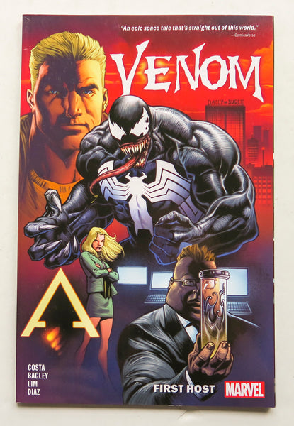 Venom First Host Marvel Graphic Novel Comic Book
