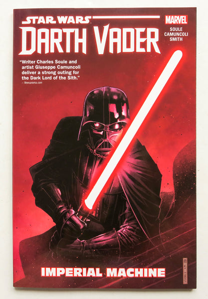 Star Wars Darth Vader Dark Lord of the Sith Imperial Machine Vol. 1 Marvel Graphic Novel Comic Book