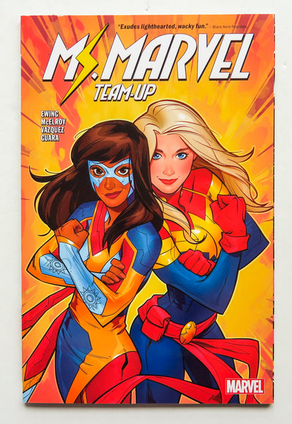 Ms. Marvel Team-Up Graphic Novel Comic Book