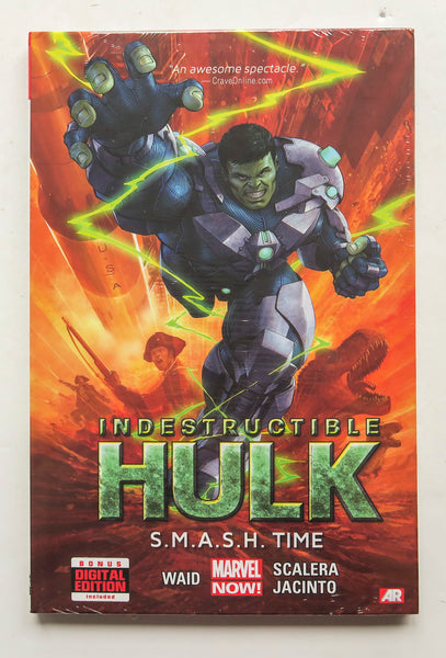 Indestructible Hulk S.M.A.S.H. Time Vol. 3 Marvel Now Graphic Novel Comic Book