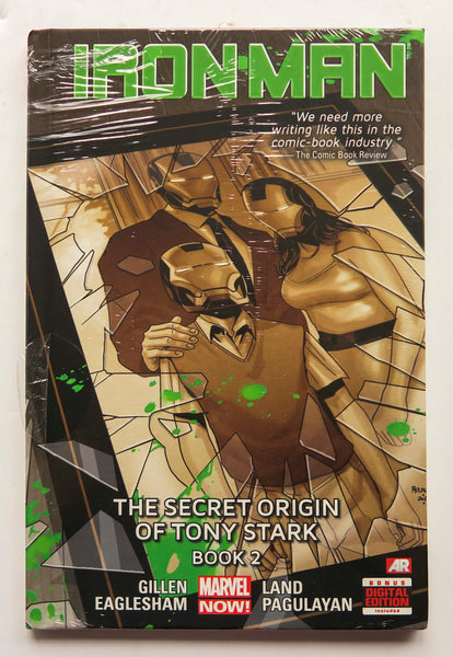 Iron Man the Secret Origin of Tony Stark Book 2 Vol. 3 Marvel Now Graphic Novel Comic Book