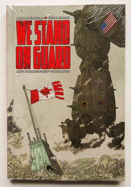 We Stand On Guard Image Graphic Novel Comic Book
