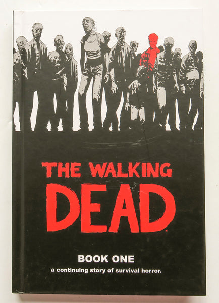 The Walking Dead Book One 1 Image Graphic Novel Comic Book