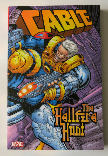 Cable The Hellfire Hunt Marvel Graphic Novel Comic Book