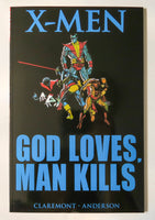 X-Men God Loves Man Kills Marvel Graphic Novel Comic Book
