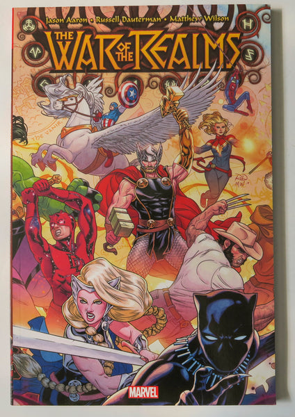 The War of the Realms Marvel Graphic Novel Comic Book