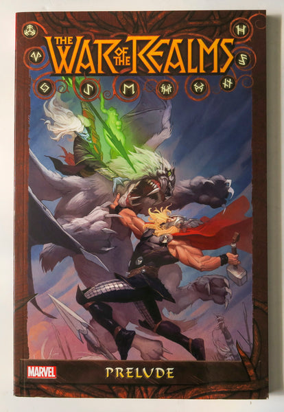 War of the Realms Prelude Marvel Graphic Novel Comic Book