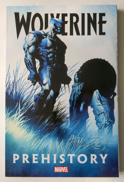 Wolverine Prehistory Marvel Graphic Novel Comic Book