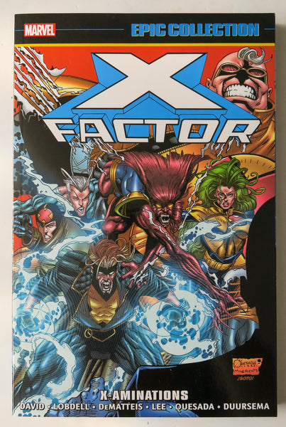 X-Factor X-Aminations Marvel Epic Collection Graphic Novel Comic Book