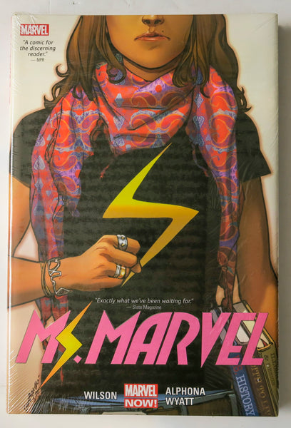 Ms. Marvel Vol. 1 Marvel Now Graphic Novel Comic Book