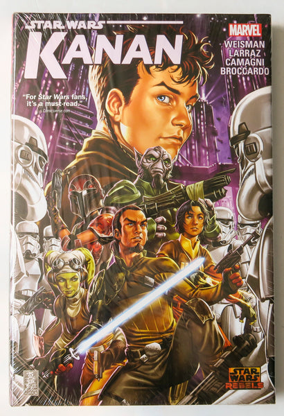 Star Wars Kanan Marvel Graphic Novel Comic Book