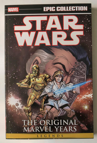 Star Wars The Original Marvel Years Vol. 2 Marvel Epic Collection Graphic Novel Comic Book