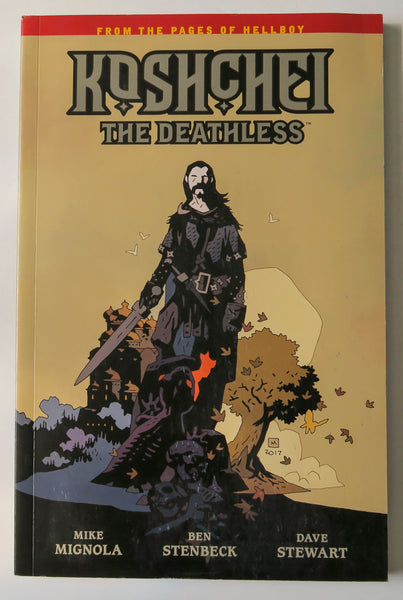Koshchei The Deathless Hellboy Dark Horse Graphic Novel Comic Book