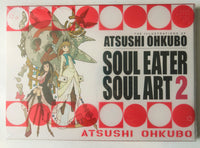 The Illustrations of Atsushi Oshkubo Soul Easter Soul Art 2 Graphic Novel Comic Book