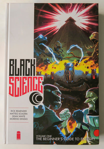 Black Science The Beginner's Guide to Entropy Vol. 1 Image Graphic Novel Comic Book