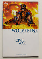 Civil War Wolverine A Marvel Comics Event Graphic Novel Comic Book