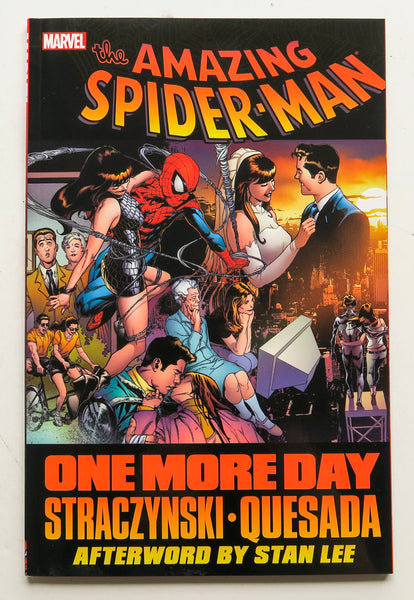 Spider-Man One More Day Marvel Graphic Novel Comic Book