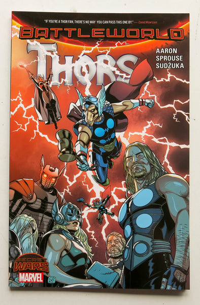 Thors Battleworld Secret Wars Marvel Graphic Novel Comic Book