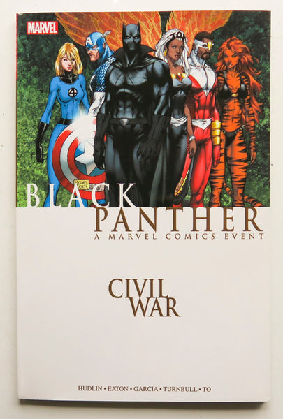 Civil War Black Panther A Marvel Comics Event Graphic Novel Comic Book