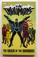 Inhumans The Origin of the Inhumans Stan Lee Jack Kirby Marvel Graphic Novel Comic Book
