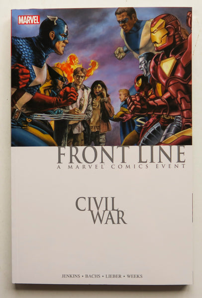 Civil War Front Line A Marvel Comics Events Graphic Novel Comic Book