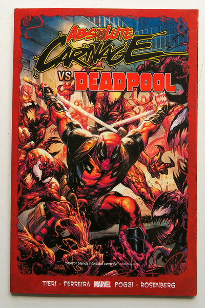 Absolute Carnage Vs Deadpool Marvel Graphic Novel Comic Book