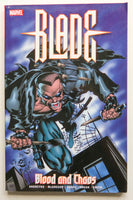 Blade Blood and Chaos Marvel Graphic Novel Comic Book