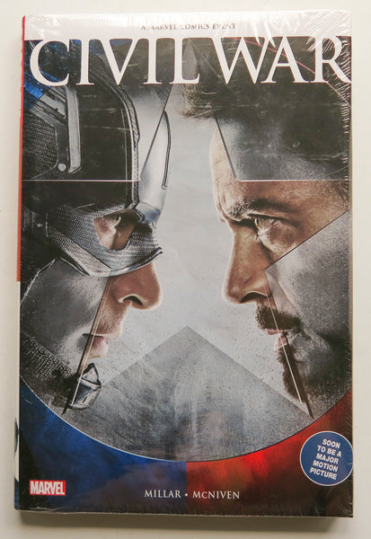 Civil War Special Movie Edition Millar McNiven Marvel Graphic Novel Comic Book