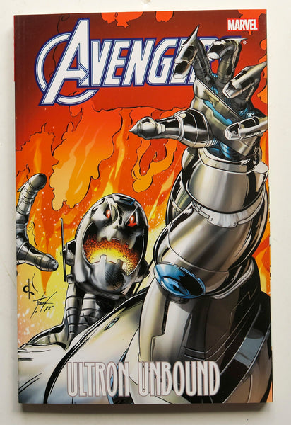 Avengers Ultron Unbound Marvel Graphic Novel Comic Book