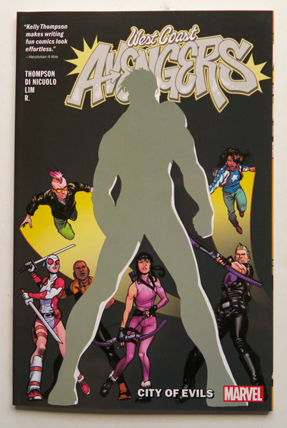 West Coast Avengers City of Evils Vol. 2 Marvel Graphic Novel Comic Book
