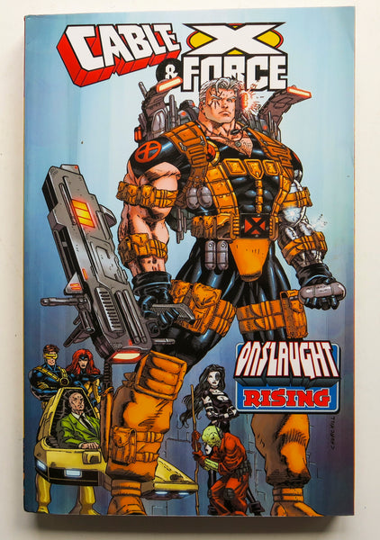 Cable & X-Force Onslaught Rising Marvel Graphic Novel Comic Book