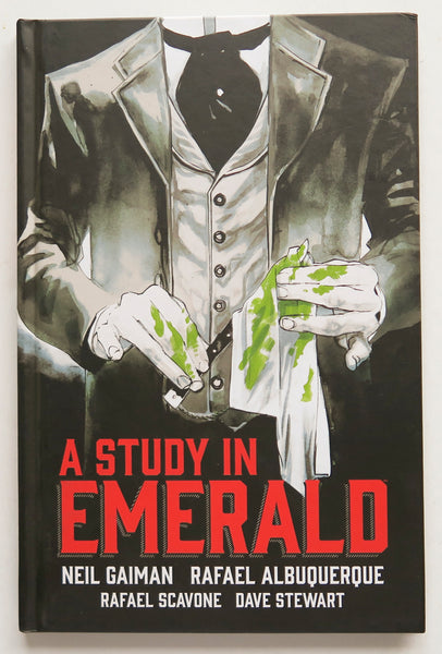 A Study In Emerald Dark Horse Graphic Novel Comic Book