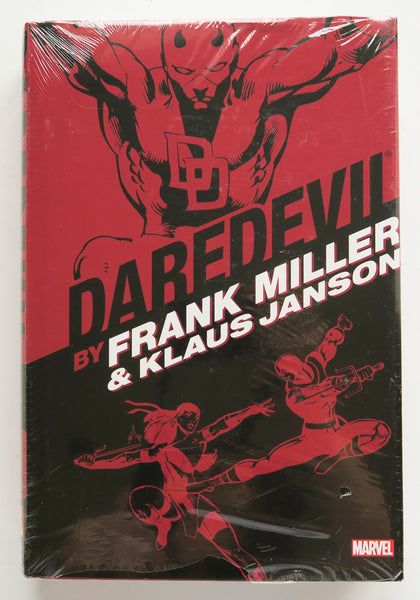 Daredevil Frank Miller Klaus Janson Marvel Omnibus Graphic Novel Comic Book