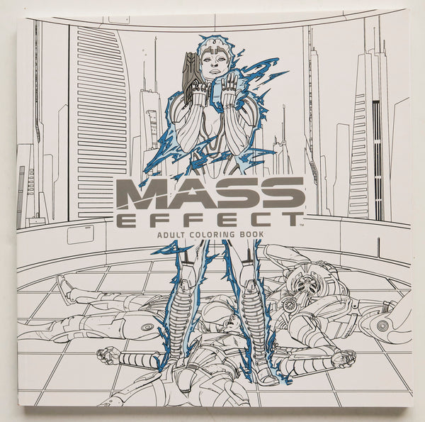 Mass Effect Adult Coloring Book Dark Horse Graphic Novel Comic Book
