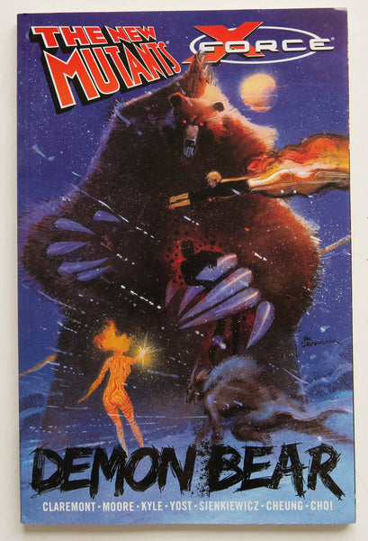 New Mutants X-Force Demon Bear Marvel Graphic Novel Comic Book