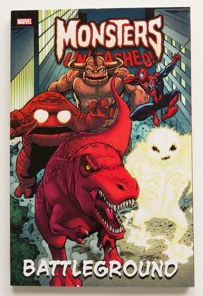 Monsters Unleashed Battleground Marvel Graphic Novel Comic Book