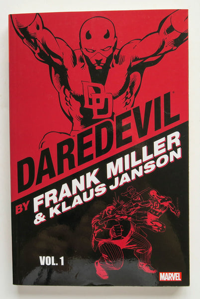 Daredevil Frank Miller Klaus Janson Vol. 1 Marvel Graphic Novel Comic Book