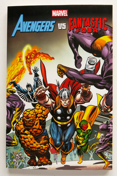 Avengers Vs Fantastic Four Marvel Graphic Novel Comic Book