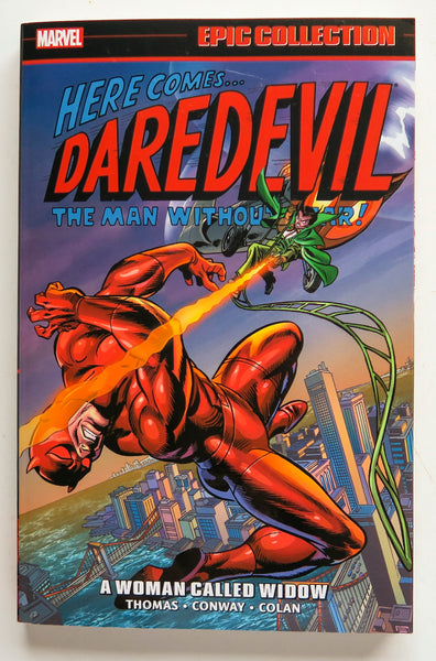 Daredevil A Woman Called Widow Marvel Epic Collection Graphic Novel