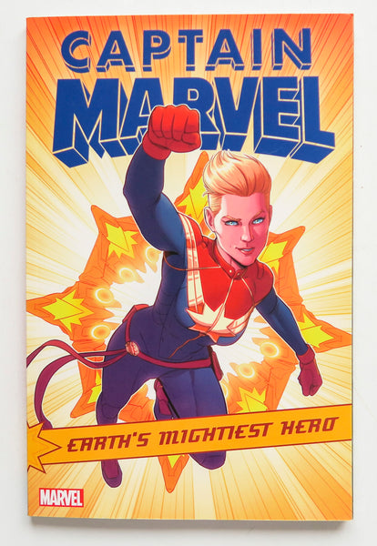 Captain Marvel Earth's Mightiest Hero Vol. 5 Marvel Graphic Novel Comic Book